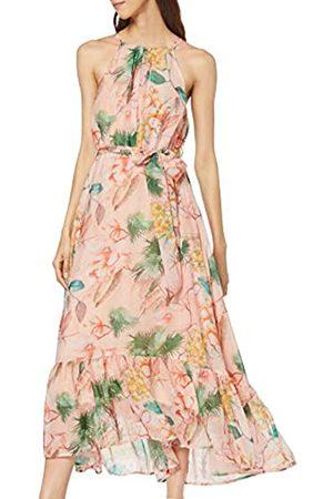 Dorothy Perkins Women's Halter Print Pleat Maxi Dress