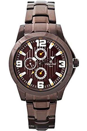Oskar Emil Oskar-Emil Classic Wellington Men's Quartz Watch with Dial Analogue Display and Plated Stainless Steel Bracelet