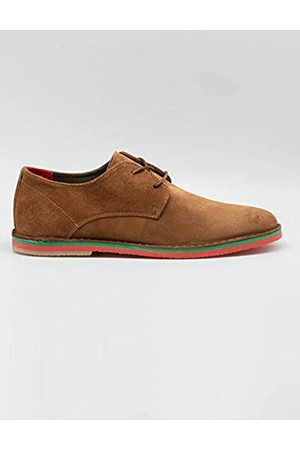 El ganso Men's Guerrero Oxfords, (Camel 0019)
