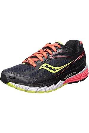 Saucony Ride 8, Women's Trail Running Shoes, (Blau/Corale/Gelb)