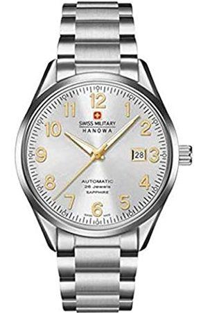Swiss Military Hanowa Mens Analogue Quartz Watch with Stainless Steel Strap 05-5287.04.001