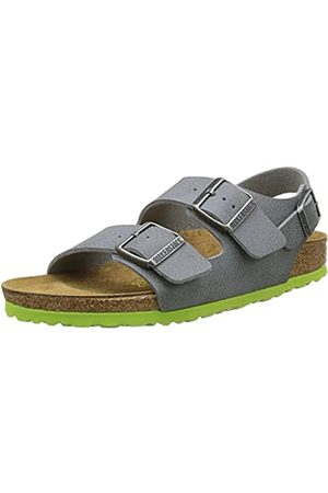 Birkenstock Milano, Boys' Sandals, (Desert Soil Gray)