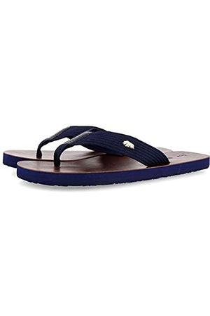 Gioseppo Men's Keynes T-Bar Sandals, (Marino Marino)
