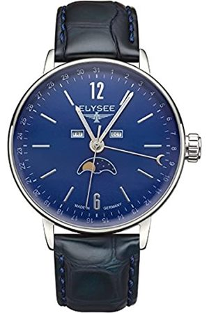 ELYSEE Unisex Adult Analogue Quartz Watch with Leather Strap 13294