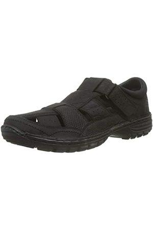 Coronel Tapiocca Men's T-Bar Shoes, (NOBUCK NEGRO 0)