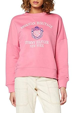 Tommy Hilfiger Women's Ozlem C-nk Sweatshirt Ls Coat