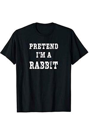 The Easy Halloween Costume Co. Pretend I'm a Rabbit Funny Halloween Costume T-Shirt