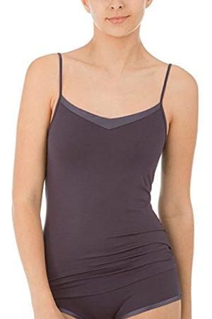 Calida Women's Cate DAMEN Spaghetti-Top Vest, Grau (Iron 979)