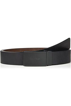 Calvin Klein Men's Casual Rev. Adj. Plaque Belt