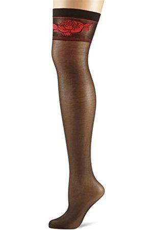 Fiore di Lucia Milano Women's Etheris/Sensual Suspender Stockings, 20 DEN