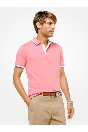 Michael Kors MK Greenwich Cotton Polo Shirt - Fd Coral Mel - Michael Kors