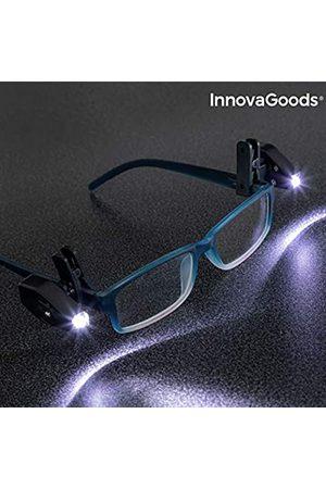 InnovaGoods Unisex Adults' Clip LED para Gafas 360º (Pack de 2) Glasses Chains & Lanyards