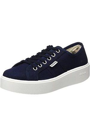 victoria BASKET LONA, Unisex Adults' Sneakers Lona Flat, (Marino)