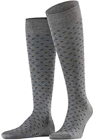 Falke Men Sensitive Jabot Knee-Highs - Cotton Blend, UK 5.5-6.5 (Manufacturer size: 39-40)