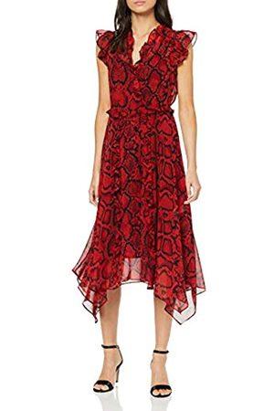 Dorothy Perkins Women's Ruby Snake Chiffon Dress Party