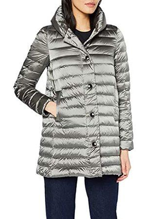 Geox Women's W Jaysen Coat Coat, (Dark F1055)