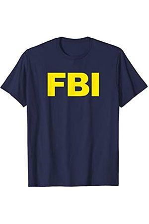 FBI Federal Agency & Law Enforcement Merch FBI Shirt Navy Front Print FBI Law Enforcement Agent