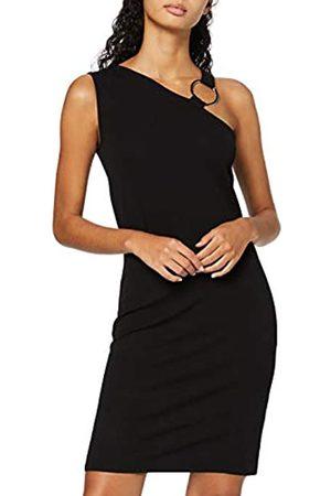 FIND Amazon Brand - Women's Asymmetric Dress, 10