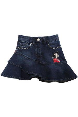 MONNALISA Girls Skirts - Stretch Cotton Skirt