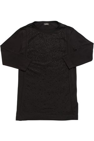 Diesel Girls Dresses - Embellished Cotton Dress