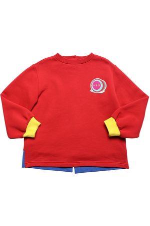 Marni Cotton Sweatshirt W/ Logo Patch