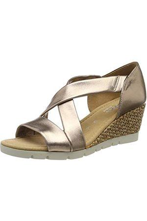 Gabor Shoes Women's Comfort Sport Ankle Strap Sandals, (Rame (Grata) 94)