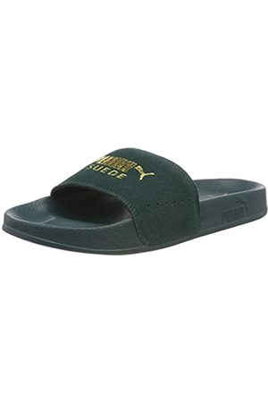 Puma Unisex Adults' Leadcat Suede Beach & Pool Shoes, (Ponderosa Pine Team )