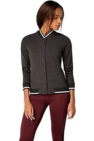 AURIQUE Amazon Brand - Women's Printed Bal1062 Long Sleeve Bomber Jacket, 16