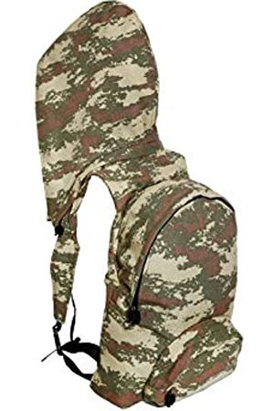 Morikukko Unisex-Adult Hooded Backpack Military Camo Backpack (Military Camo)