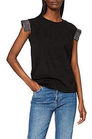 Silvian Heach Women's T-Shirt Maputo Kniited Tank Top