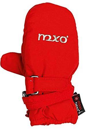 maximo Girls' 38303-625800, Thermofausthandschuh, Reißverschluss, Stickerei mxo Mittens
