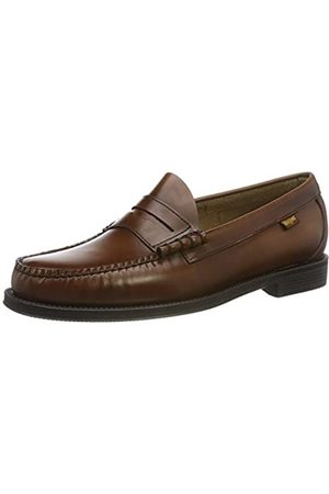 G.H. Bass Men's Larson Loafers, (Mid Leather 033)