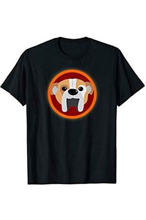 ToonTyphoon Funny Coat of Arms English Bulldog T-Shirt