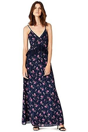 TRUTH & FABLE Amazon Brand - Women's Sprig Floral Maxi Dress, 6