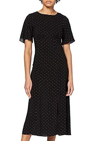 Dorothy Perkins Women's Spot Empire Angel Sleeve Dress