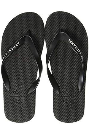 Armani Men's Classic Flip Flop, ( + Logo 00002)