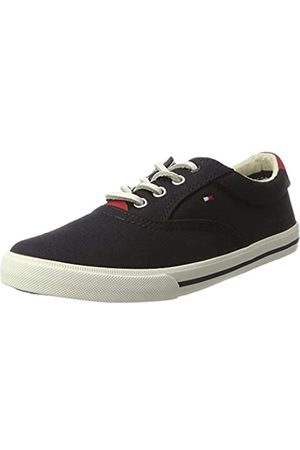 Tommy Hilfiger W3285inston Jr 1d, Boys' Low-Top Sneakers, (Midnight 403)
