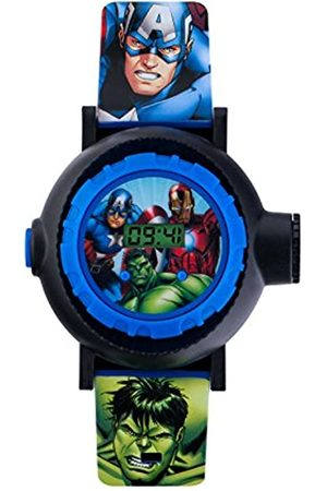 The Avengers Avengers Children's Digital Watch with Dial Digital Display and PU Strap AVG3536