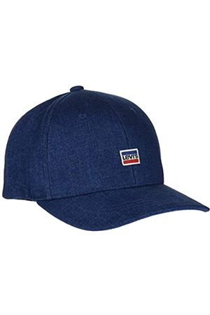 Levi's Men's Mini Sportwear Logo Flexfit Denim Flat Cap