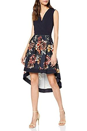 Mela Women's Floral Wrap Front High Low Dress Casual