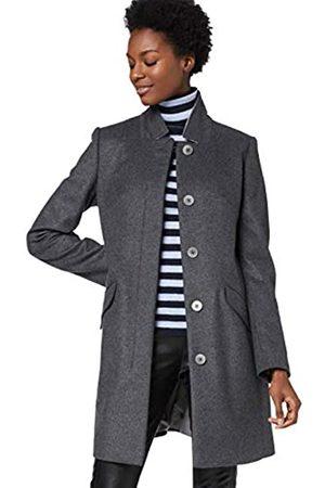 HUGO BOSS Women's Okirana7 10174139 01 Trench Long Sleeve Coat