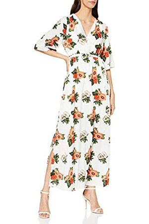 Mela Women's Chrysanthemum Flower Maxi Dress Casual