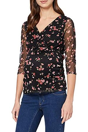 Dorothy Perkins Women's Maternity Floral Mesh Wrap Top Blouse