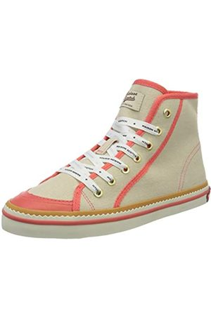SCOTCH & SODA FOOTWEAR Women's Melli Hi-Top Trainers, Fog /Corral S266)