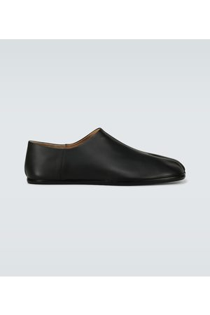 Maison Margiela Tabi Babouche leather loafers
