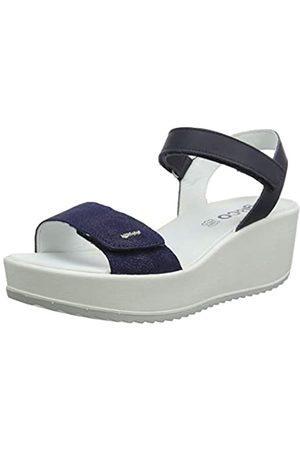 IGI&CO Women's DCD 31731 Platform Sandals, (BLU 3173188)