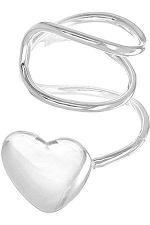 Tuscany Silver Sterling Wire Heart Ear Cuff