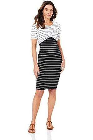 Ripe Maternity Women's Twisted Nursing Business Casual Dress