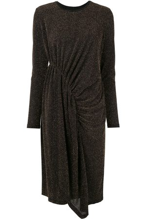 Karen Walker Women Midi Dresses - Magmatic glittered midi dress
