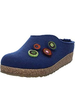 Haflinger Unisex Adults' Grizzly Kanon Open Back Slippers, (Kaskade 68)